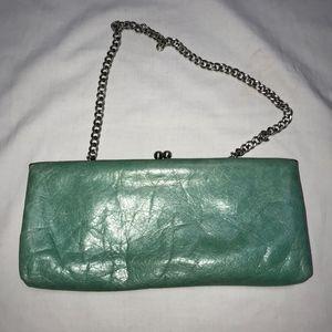 HOBO International teal green clutch bag Summer!